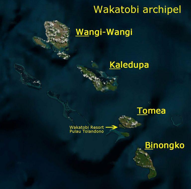 Map DIVE ASIA IDN Indonesia