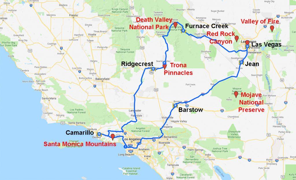 Map USA 2014-12 CA NV