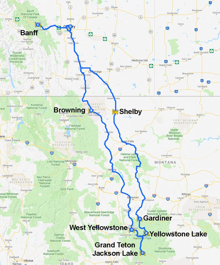 Map 2016-09 CAN AB USA MT WY